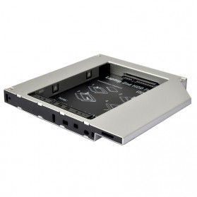 Universal 2.5 inch HDD Caddy 12.7mm SATA to SATA 3 - 4