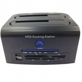 Dual SATA HDD Docking Station USB2.0 Model 329U3S
