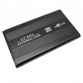 External Hard Disk Case Sata Interface USB 3.0 - WLX3207 - Black