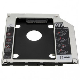 Universal 2nd Hard Disk Drive Caddy SATA 9.5mm for Apple - 2
