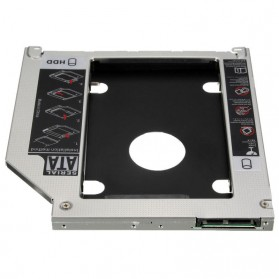 Universal 2nd Hard Disk Drive Caddy SATA 9.5mm for Apple - 3