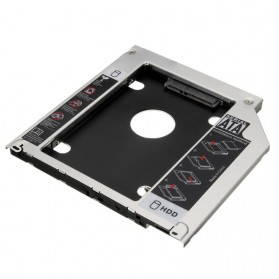 Universal 2nd Hard Disk Drive Caddy SATA 9.5mm for Apple - 4