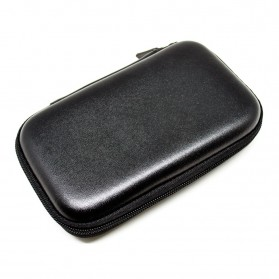 EVA Shockproof Case Bag for External HDD 2.5 Inch / Power Bank - HD405 - Black