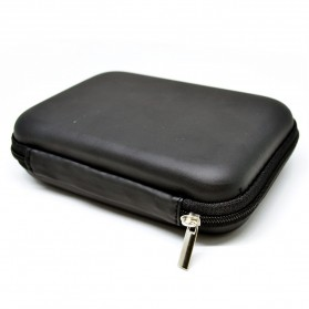 EVA Shockproof Case Bag for External HDD 2.5 Inch / Power Bank - HD404 - Black
