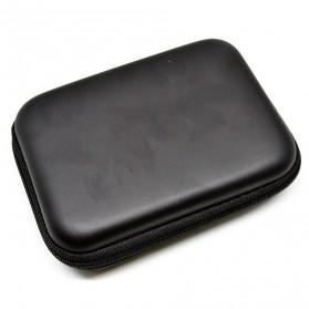 EVA Shockproof Case Bag for External HDD 2.5 Inch / Power Bank - HD404 - Black - 2