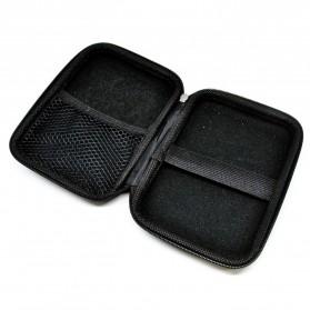 EVA Shockproof Case Bag for External HDD 2.5 Inch / Power Bank - HD404 - Black - 3