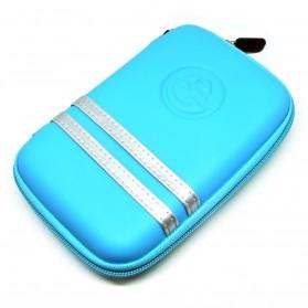 EVA Shockproof Case Bag for External HDD 2.5 Inch / Power Bank - HD404 - Blue - 2