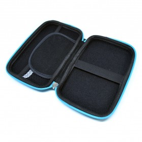 EVA Shockproof Case Bag for External HDD 2.5 Inch / Power Bank - HD404 - Blue - 3