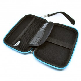 EVA Shockproof Case Bag for External HDD 2.5 Inch / Power Bank - HD404 - Blue - 4
