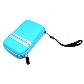 EVA Shockproof Case Bag for External HDD 2.5 Inch / Power Bank - HD404 - Blue - 5