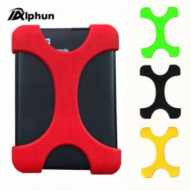 Storage Komputer PC / Laptop - Alphun HDD Protection Case SIlicone Bumper Bag 2.5 Inch - PHC-61 - Mix Color