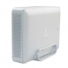Iomega eGo Desktop External Hard Drive 3.5 Inch SATA USB 2.0 + 1394B (FireWire 800) - Gray Silver