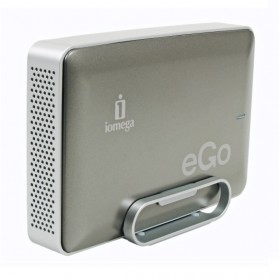 Iomega eGo Charcoal External Hard Drive 3.5 Inch USB 3.0 - Black