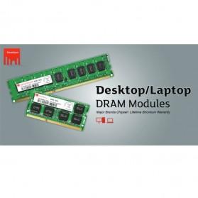 Strontium DDR3 4GB 1333MHz PC10600 RAM SODIMM - SRT4G88S1-H9H / SRT4G86S1-H9Z - 2
