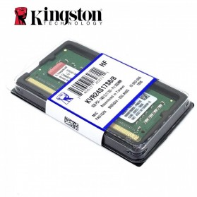 Spare Part Laptop - KINGSTON Memory Notebook SODIMM 8GB DDR4 PC-19200 KVR24S17S8/8