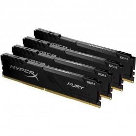 KINGSTON HyperX FURY RAM DIMM 4GB DDR4 2666MHz CL16 - HX426C16FB3/4 - Black - 4