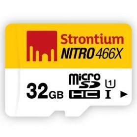 Strontium Nitro 466X MicroSDHC UHS1 70MB/s Class 10 32GB - SRN32GTFU1R