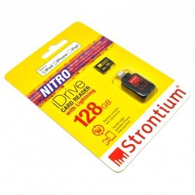 Strontium Nitro iDrive Card Reader Lightning with Nitro 466X 128GB - SRN128GTFU1D