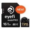 Memory Card - Eye-Fi Mobi Pro Wireless SDHC Card Class 10 16GB - Black
