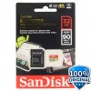 SanDisk Extreme microSDHC Card UHS-I 3 Class 10 4K (90MB/s) 32GB with SD Card Adapter - SDSQXNE-032G