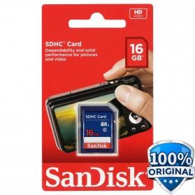 SanDisk Standard SDHC Card Class 4 16GB - SDSDB-016G-B35
