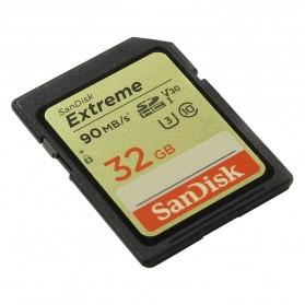 SanDisk Extreme SDHC Card UHS-I V30 U3 Class 10 (90MB/s) 32GB - SDSDXVE-032G - 2