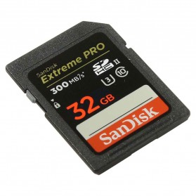 SanDisk Extreme Pro SDHC Card UHS-II U3 Class 10 4K (300MB/s) 32GB - SDSDXPK-032G-GN4IN - 2
