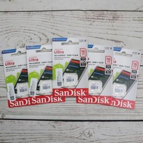 SanDisk Ultra microSDHC Card UHS-I Class 10 (80MB/s) 128GB - SDSQUNS-128G - 3