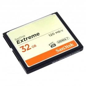 SanDisk Extreme Compact Flash Card VGP-20 (120MB/s) 32GB - SDCFXSB-032G - 2