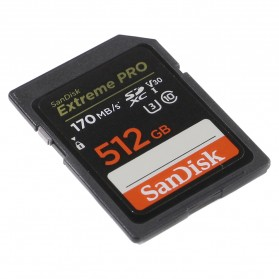 SanDisk Extreme Pro SDXC Card UHS-I U3 V30 Class 10 4K (170MB/s) 512GB - SDSDXXY-512G-GN4IN - 2