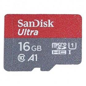 SanDisk Ultra microSDHC Card UHS-I Class 10 A1 (98MB/s) 16GB - SDSQUAR-016G-GN6MN - 2