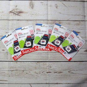 SanDisk Ultra microSDHC Card UHS-I Class 10 A1 (100MB/s) 64GB - SDSQUAR-064G-GN6MN - 3