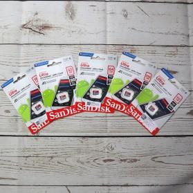 SanDisk Ultra microSDHC Card UHS-I Class 10 A1 (100MB/s) 128GB - SDSQUAR-128G-GN6MN - 3