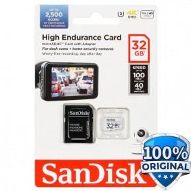 SanDisk High Endurance microSDHC Card UHS-I Class 10 U3 V30 (100MB/s) 32GB - SDSQQNR-032G-GN6IA - 1