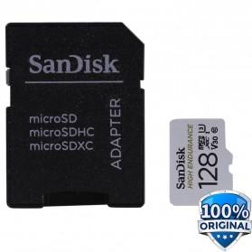 SanDisk High Endurance microSDHC Card UHS-I Class 10 U3 V30 (100MB/s) 128GB - SDSQQNR-128G-GN6IA - 2