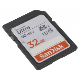SanDisk Ultra SDHC UHS-I Class 10 SD Card (90mb/s) 32GB - SDSDUNR-032G-GN6IN - 2