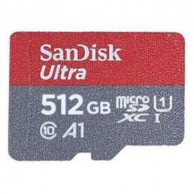 SanDisk Ultra microSDXC Card UHS-I Class 10 A1 (100MB/s) 512GB - SDSQUAR-512G-GN6MN - 2