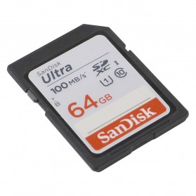 SanDisk Ultra SDXC UHS-I Class 10 SD Card (100mb/s) 64GB - SDSDUNR-64G-GN6IN - 2