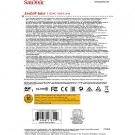 SanDisk Ultra SDXC UHS-I Class 10 SD Card (100mb/s) 128GB - SDSDUNR-128G - 5