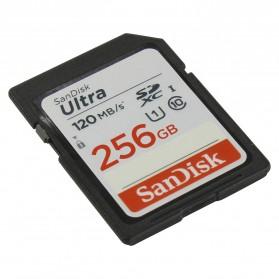 SanDisk Ultra SDXC UHS-I Class 10 SD Card (120mb/s) 256GB - SDSDUN4-256G-GN6IN - 2
