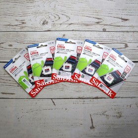 SanDisk Ultra microSDXC Card UHS-I Class 10 A1 (120MB/s) 128GB - SDSQUA4-128G-GN6MN - 3