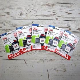 SanDisk Ultra microSDXC Card UHS-I Class 10 A1 (120MB/s) 128GB with Adaptor - SDSQUA4-128G-GN6MA - 3