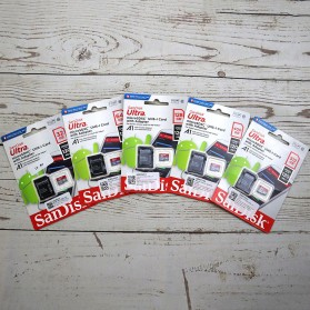 SanDisk Ultra microSDXC Card UHS-I Class 10 A1 (120MB/s) 400GB with Adaptor - SDSQUA4-400G-GN6MA - 3