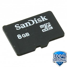 SanDisk microSDHC Memory Cards Class 4 8GB - SDSDQM-008G-BQ35 (BULK PACKAGING)