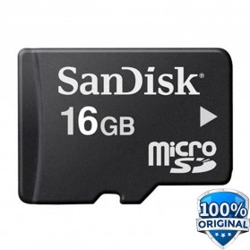 SanDisk microSDHC Memory Cards Class 4 16GB - SDSDQM-016G-BQ35 (BULK PACKAGING)