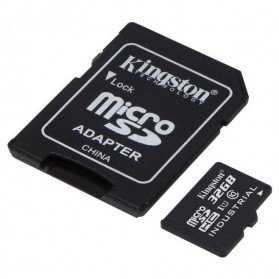 Kingston Canvas Select MicroSDHC UHS-I Class 10 (80MB/s) 16GB - SDCS/16GB - 3