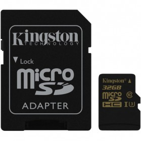 Kingston Gold MicroSDHC GoPro UHS-I Class 10 4K (90MB/s) 32GB - SDCG/32GB