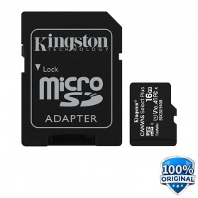 Kingston Canvas Select Plus MicroSDHC UHS-I Class 10 V10 (100MB/s) 16GB - SDCS2