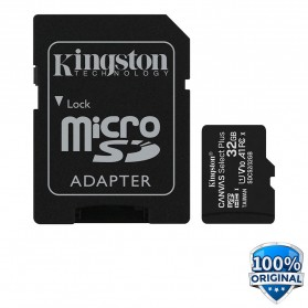 Kingston Canvas Select Plus MicroSDHC UHS-I Class 10 V10 (100MB/s) 32GB - SDCS2