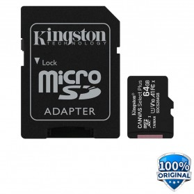 Kingston Canvas Select Plus MicroSDXC UHS-I Class 10 V10 (100MB/s) 128GB - SDCS2 - 1
